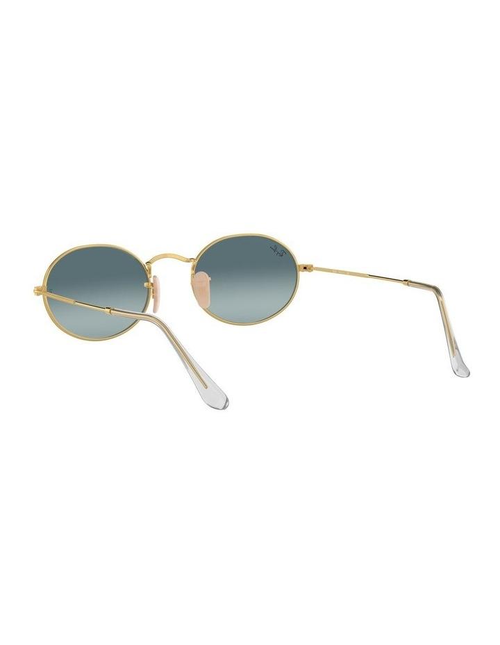 Oval Blue Sunglasses 0RB3547 1523752002 image 6