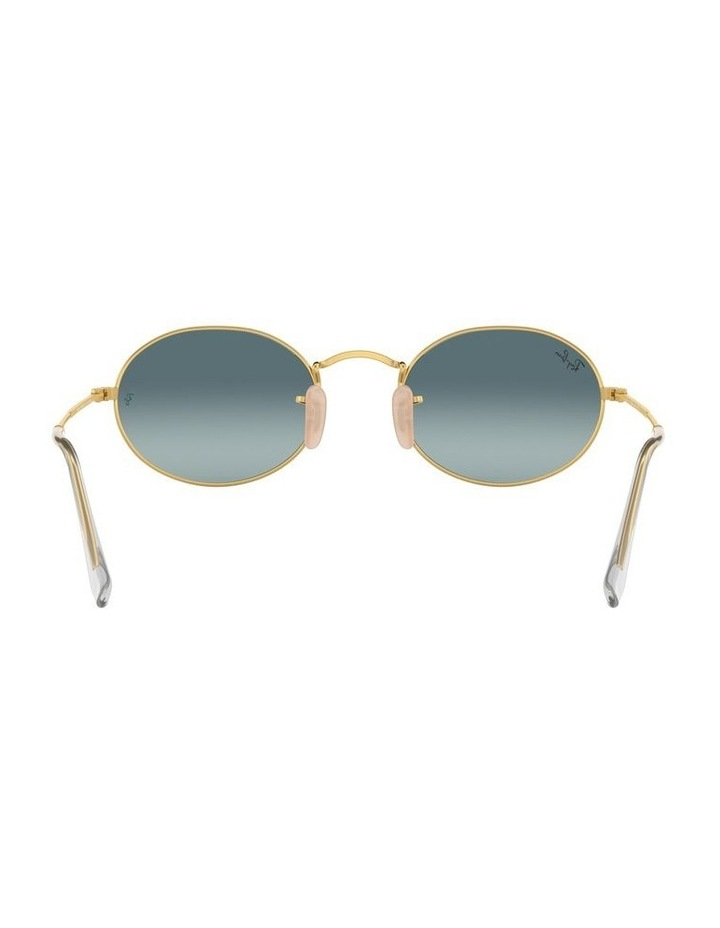 Oval Blue Sunglasses 0RB3547 1523752002 image 7