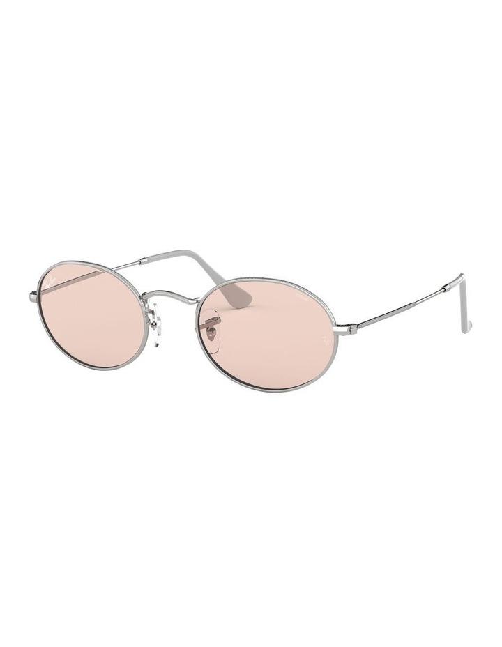 Oval Pink Metal Sunglasses 0RB3547 1523752010 image 1