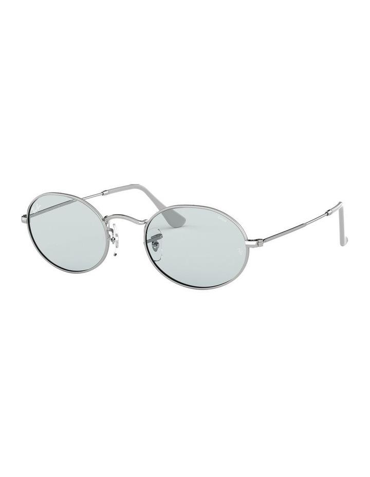 Oval Blue Metal Sunglasses 0RB3547 1523752013 image 1