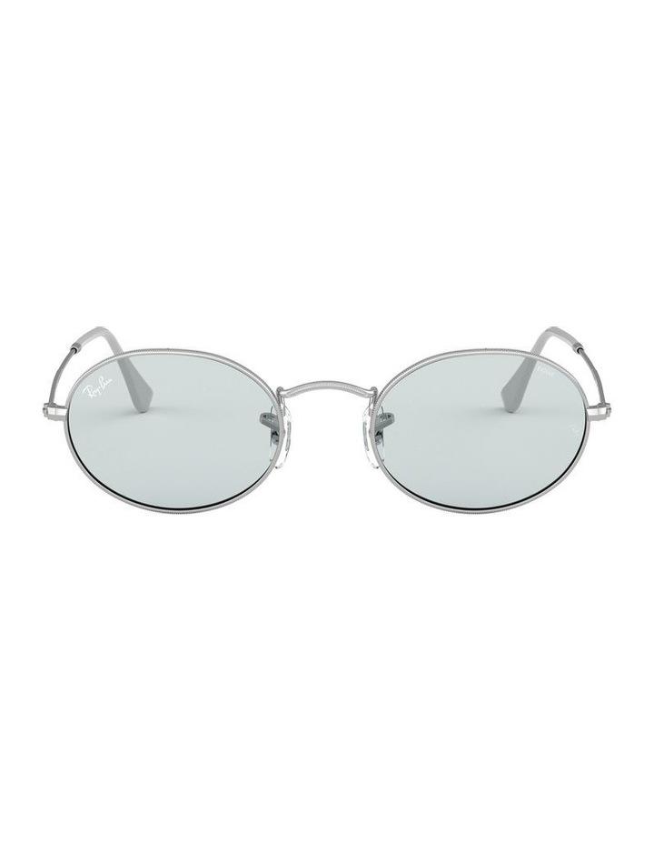 Oval Blue Metal Sunglasses 0RB3547 1523752013 image 2