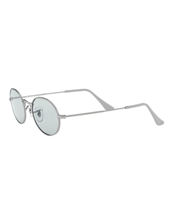 Oval Blue Metal Sunglasses 0RB3547 1523752013 image 3