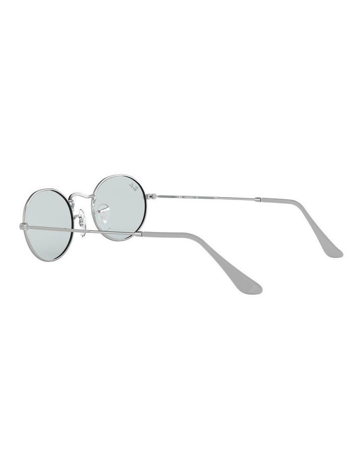 Oval Blue Metal Sunglasses 0RB3547 1523752013 image 5
