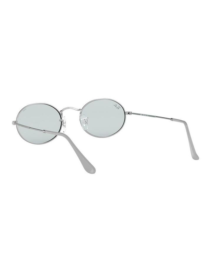 Oval Blue Metal Sunglasses 0RB3547 1523752013 image 6