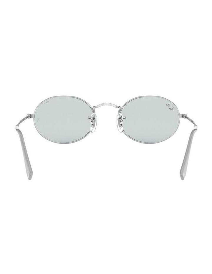 Oval Blue Metal Sunglasses 0RB3547 1523752013 image 7