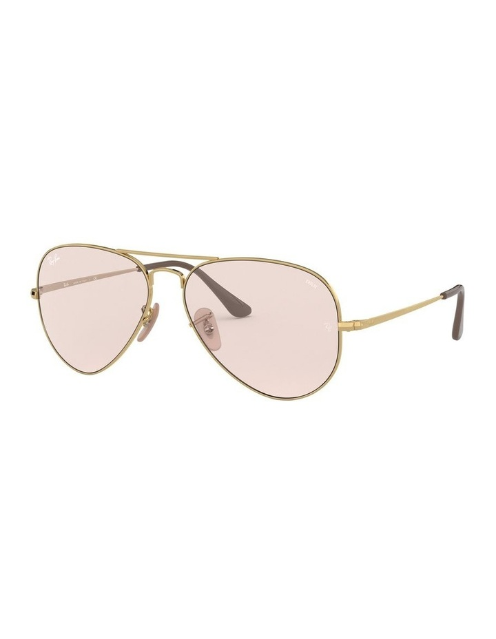 II Polarised Pink Aviator Sunglasses 0RB3689 1523755012 image 1