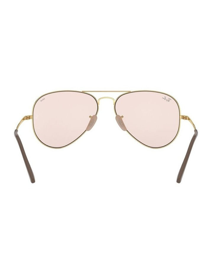 II Polarised Pink Aviator Sunglasses 0RB3689 1523755012 image 7
