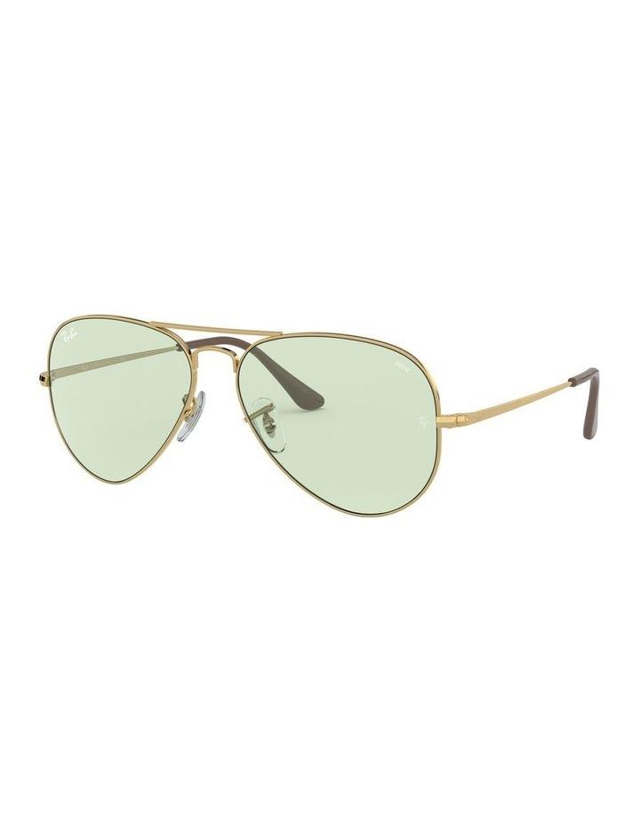 II Polarised Green Aviator Sunglasses 0RB3689 1523755013 image 1
