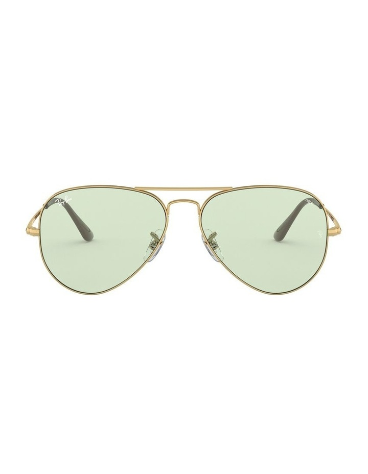 II Polarised Green Aviator Sunglasses 0RB3689 1523755013 image 2