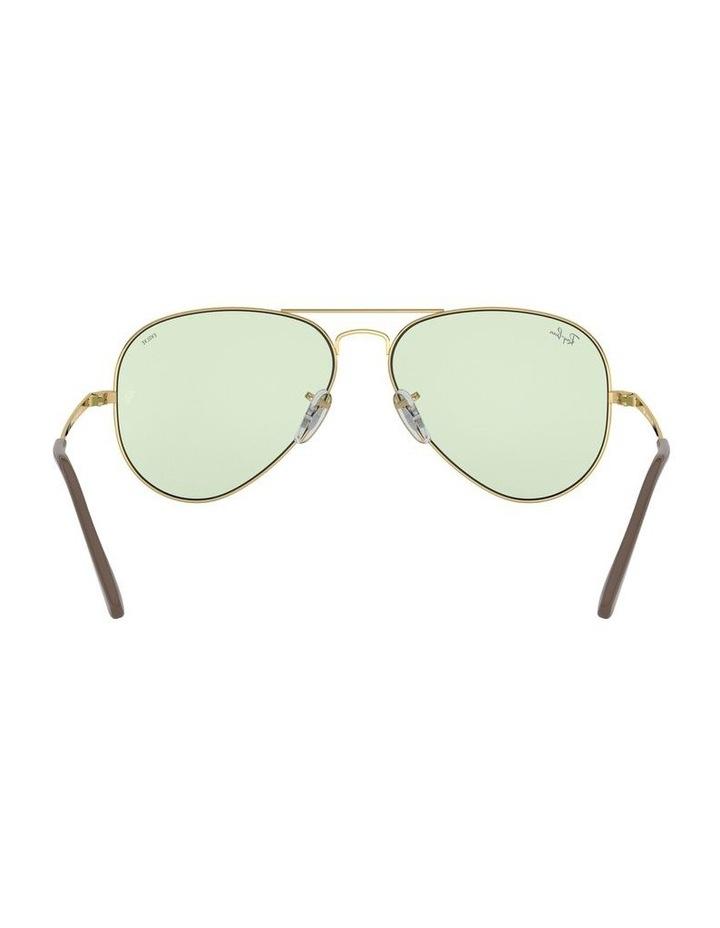 II Polarised Green Aviator Sunglasses 0RB3689 1523755013 image 7