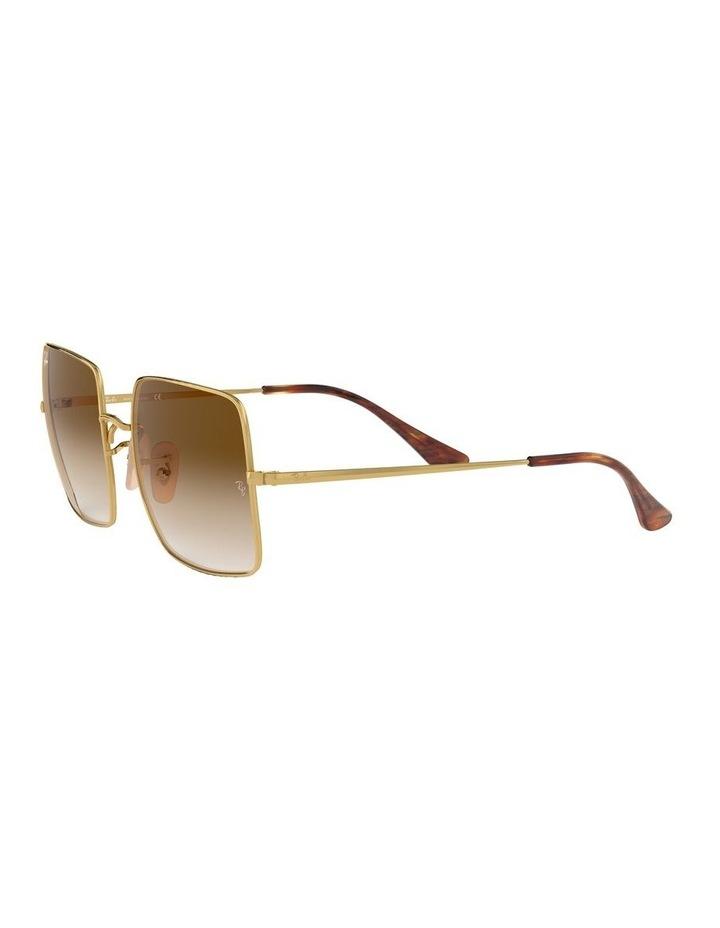 Brown Metal Square Sunglasses 0RB1971 1523838002 image 3