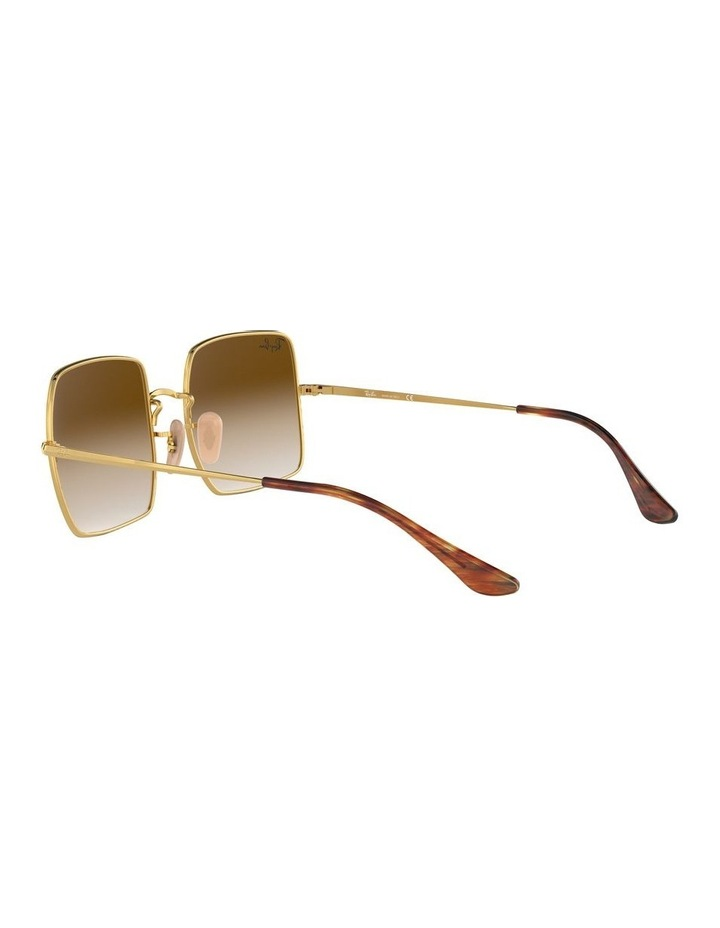 Brown Metal Square Sunglasses 0RB1971 1523838002 image 5