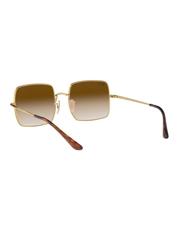 Brown Metal Square Sunglasses 0RB1971 1523838002 image 6