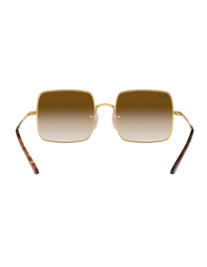 Brown Metal Square Sunglasses 0RB1971 1523838002 image 7