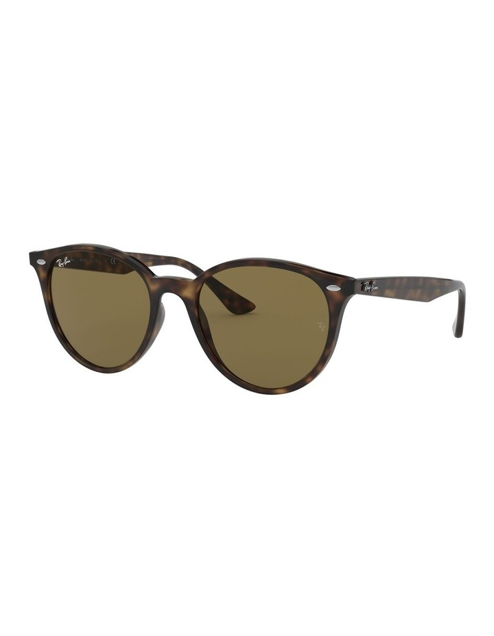 Brown Round Sunglasses 0RB4305 1524340005 image 1