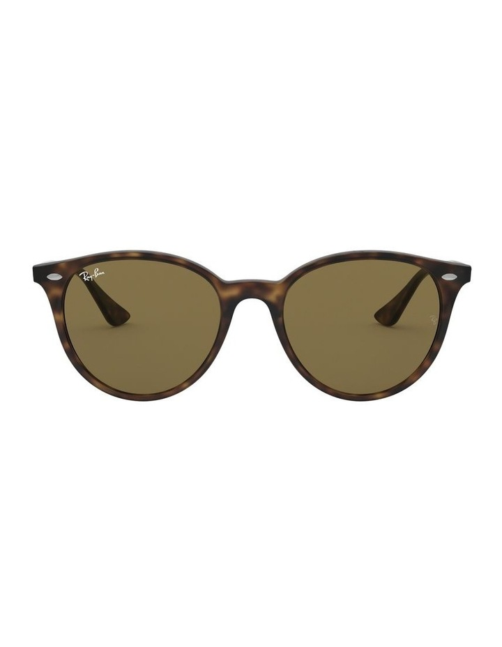 Brown Round Sunglasses 0RB4305 1524340005 image 2