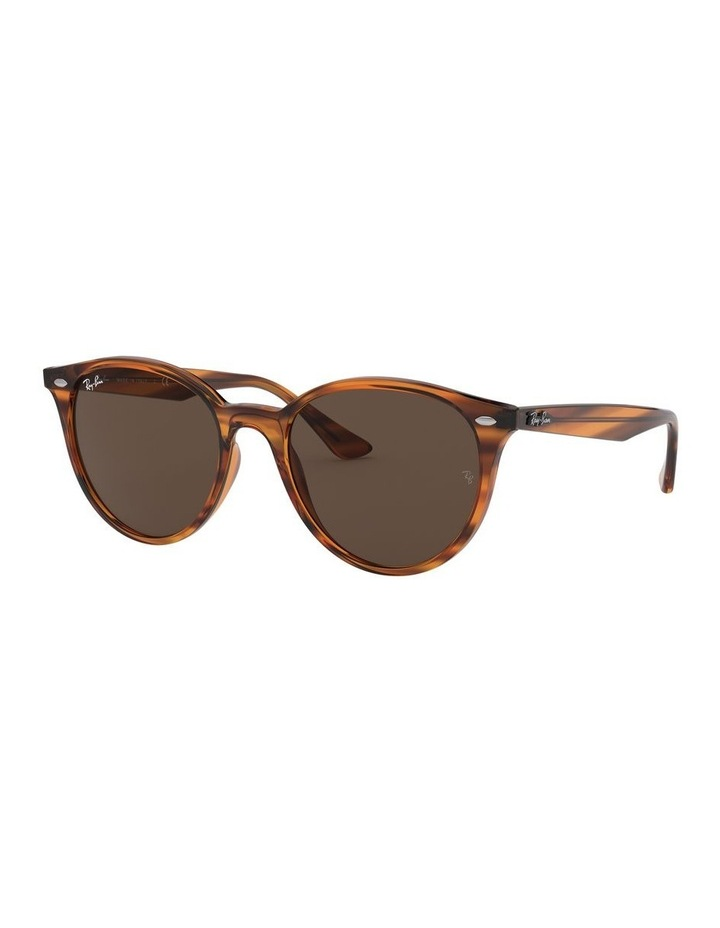 Brown Round Sunglasses 0RB4305 1524340007 image 1