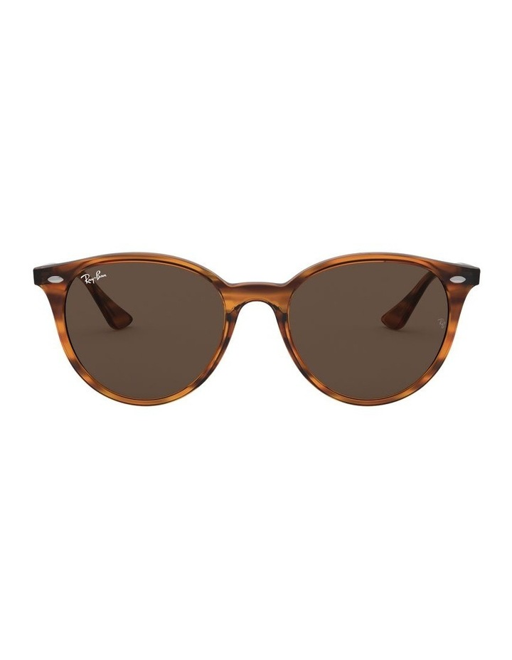Brown Round Sunglasses 0RB4305 1524340007 image 2