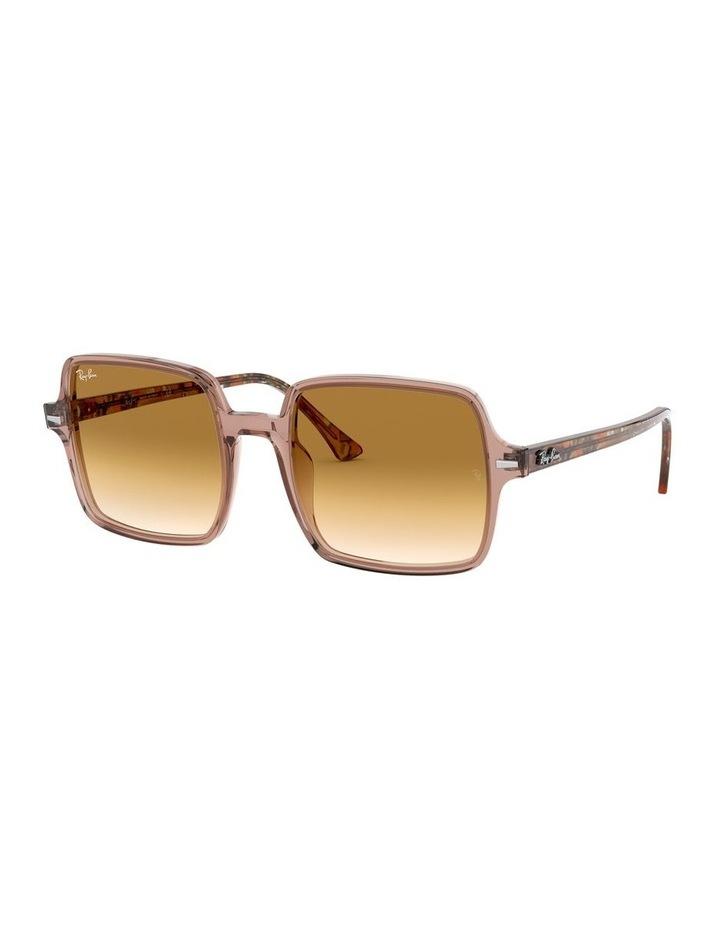 Square II Transparent Brown Square Sunglasses 0RB1973 1526222001 image 1