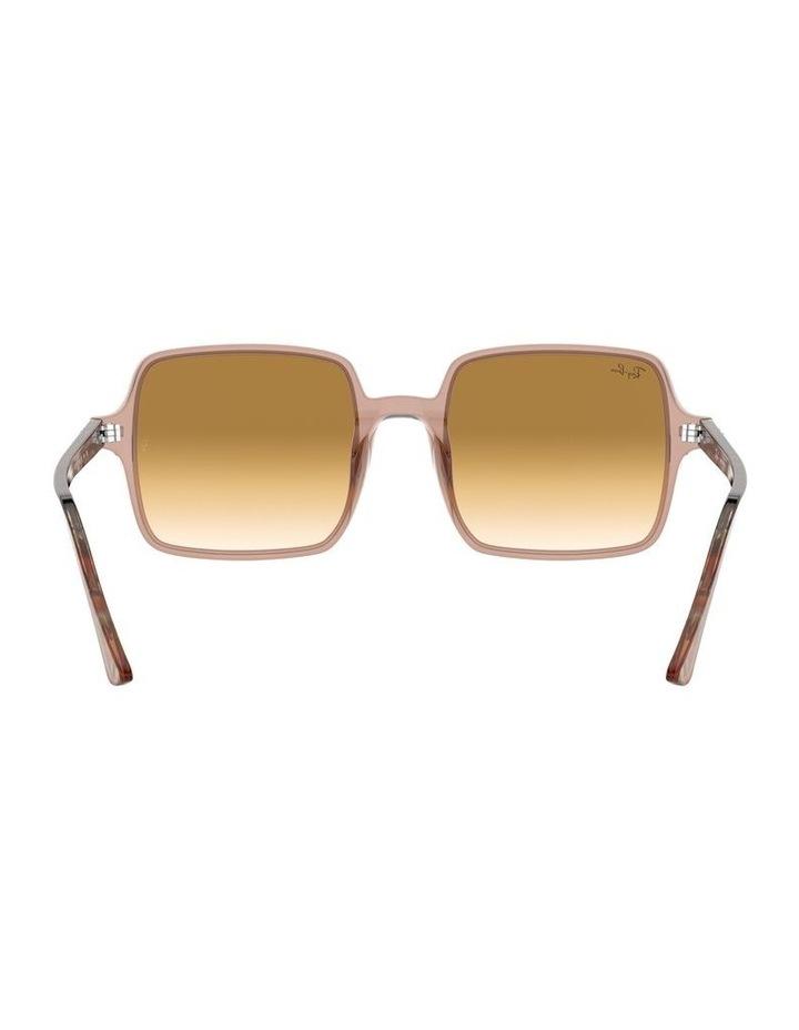 Square II Transparent Brown Square Sunglasses 0RB1973 1526222001 image 7