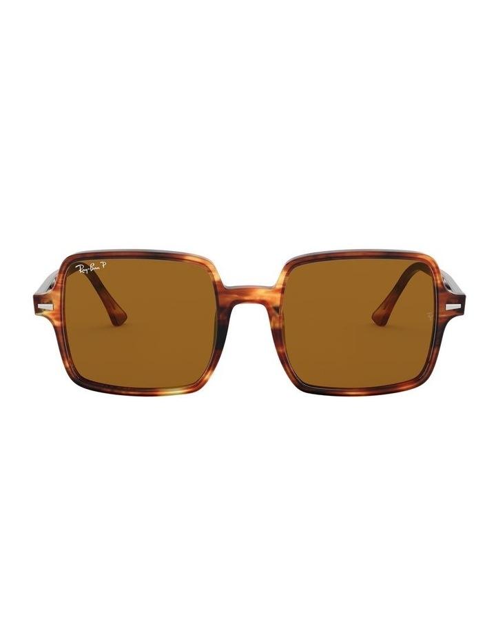 Square II Polarised Brown Square Sunglasses 0RB1973 526222003 image 2