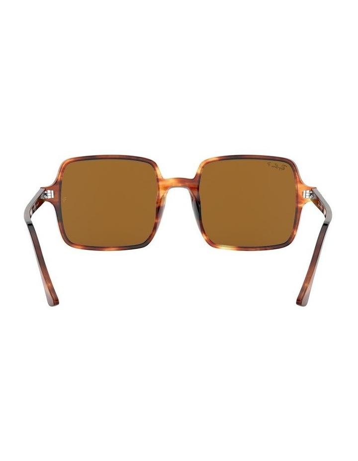 Square II Polarised Brown Square Sunglasses 0RB1973 526222003 image 7