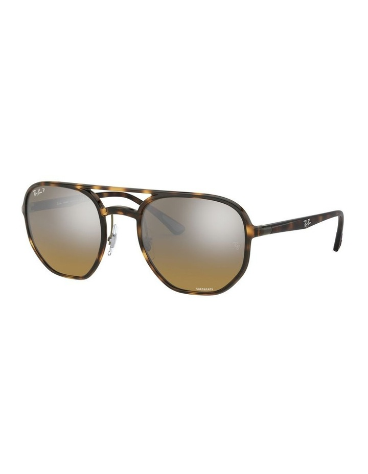 Brown Hexagon Sunglasses 0RB4321CH 1526226002 image 1