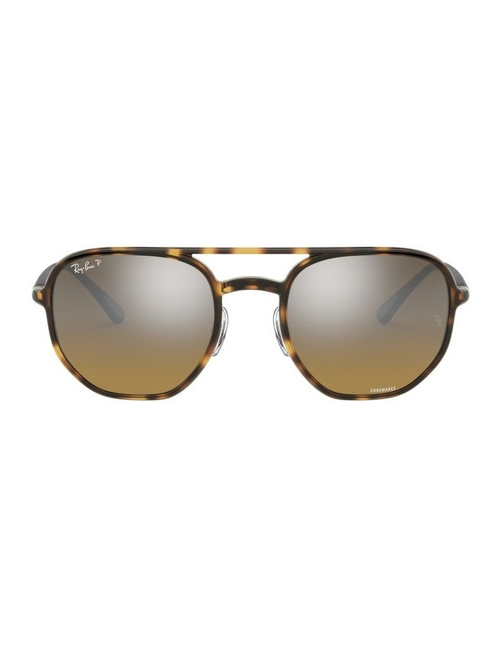 Brown Hexagon Sunglasses 0RB4321CH 1526226002 image 2