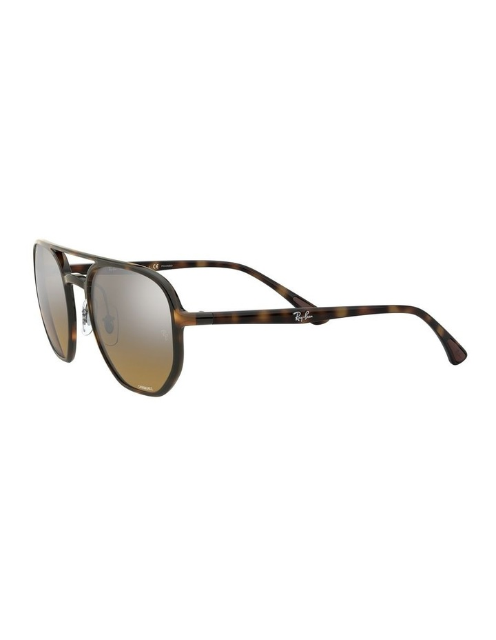 Brown Hexagon Sunglasses 0RB4321CH 1526226002 image 3