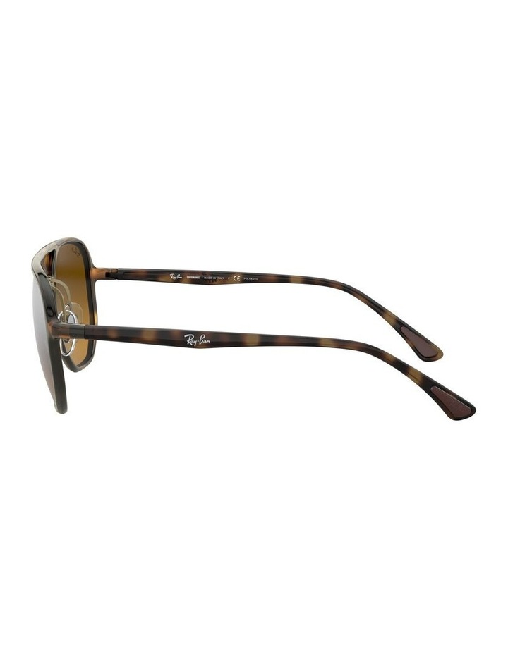 Brown Hexagon Sunglasses 0RB4321CH 1526226002 image 4