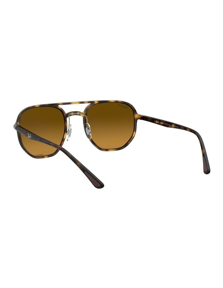 Brown Hexagon Sunglasses 0RB4321CH 1526226002 image 6
