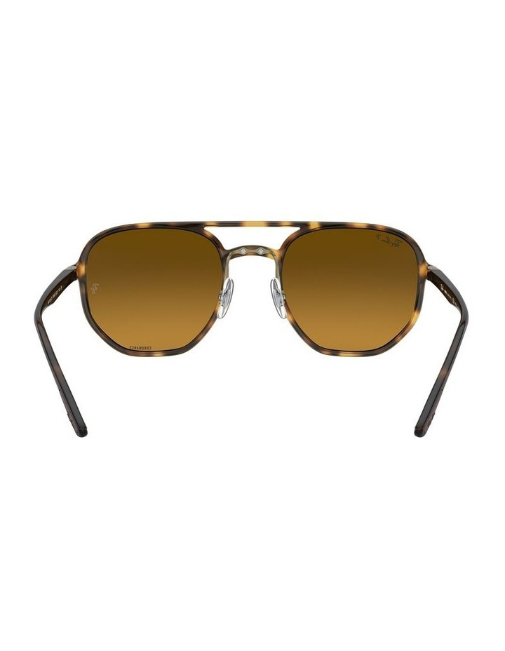 Brown Hexagon Sunglasses 0RB4321CH 1526226002 image 7