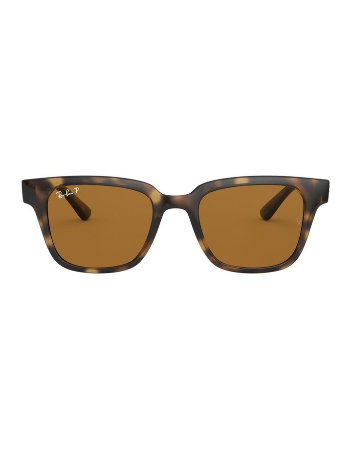 Brown Square Sunglasses 0RB4323 1526227003 image 2