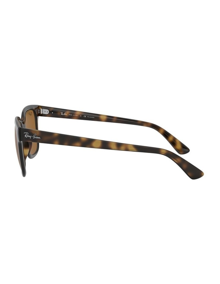 Brown Square Sunglasses 0RB4323 1526227003 image 4