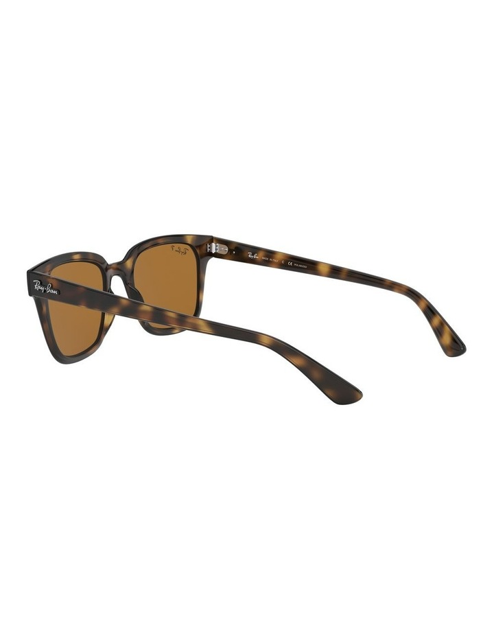 Brown Square Sunglasses 0RB4323 1526227003 image 5