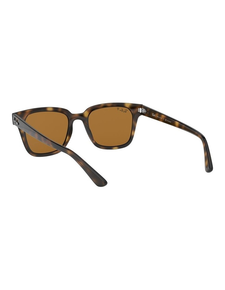 Brown Square Sunglasses 0RB4323 1526227003 image 6