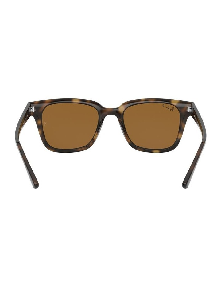 Brown Square Sunglasses 0RB4323 1526227003 image 7