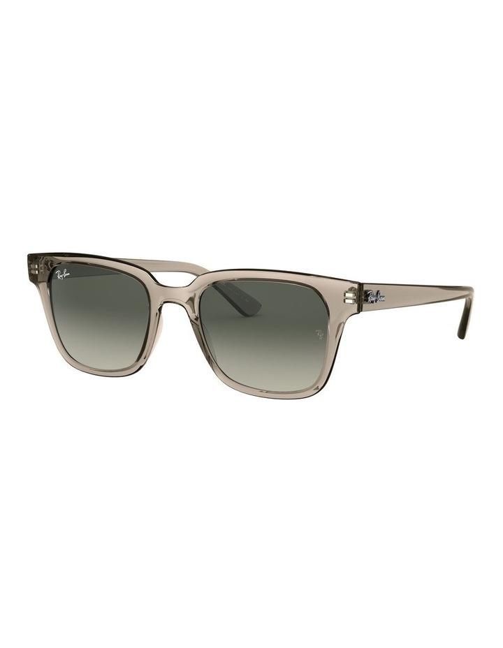 Transparent Grey Square Sunglasses 0RB4323 image 1