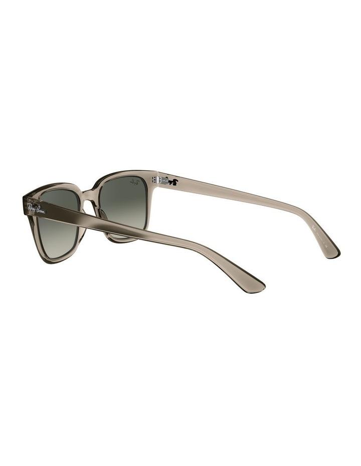 Transparent Grey Square Sunglasses 0RB4323 image 5