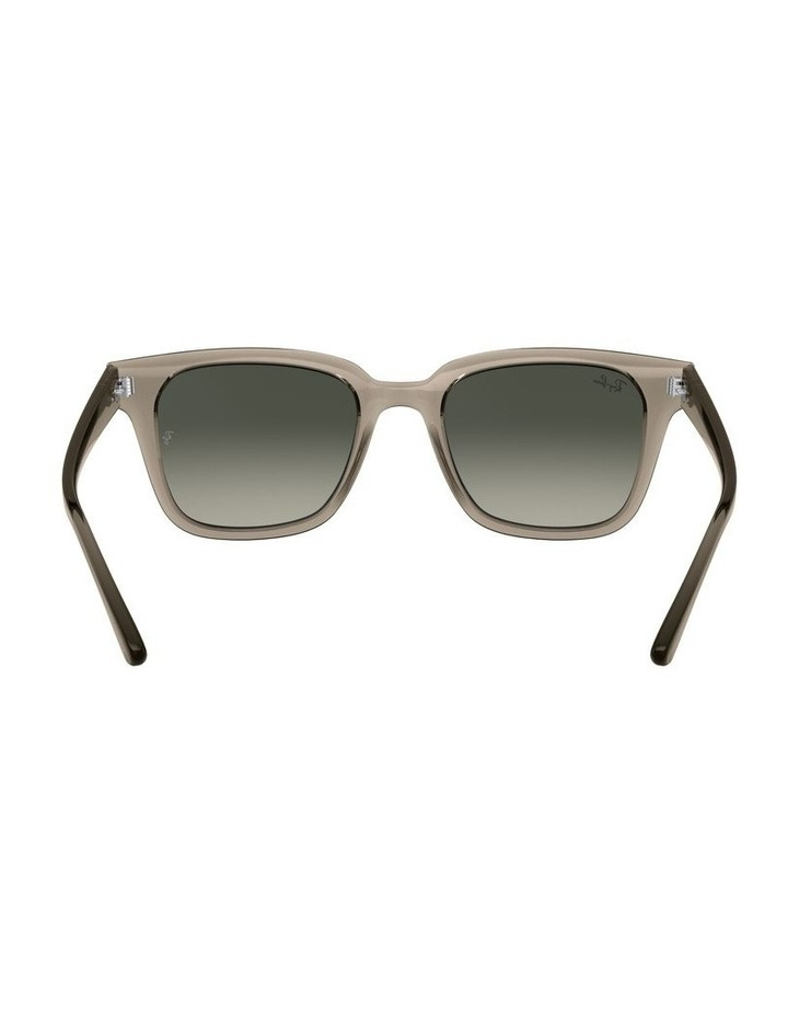 Transparent Grey Square Sunglasses 0RB4323 image 7