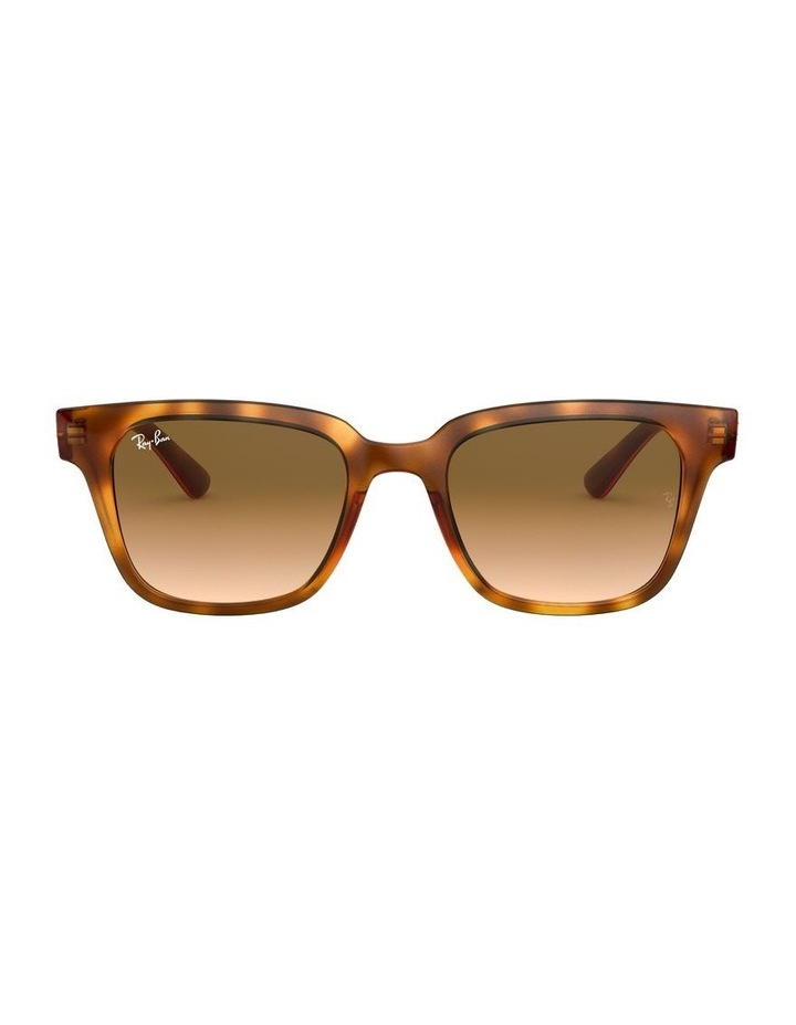 Brown Square Sunglasses 0RB4323 1526227010 image 2