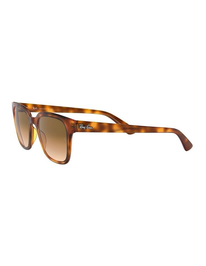 Brown Square Sunglasses 0RB4323 1526227010 image 3