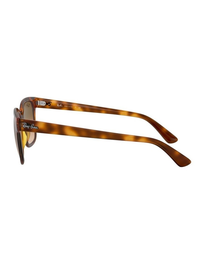 Brown Square Sunglasses 0RB4323 1526227010 image 4