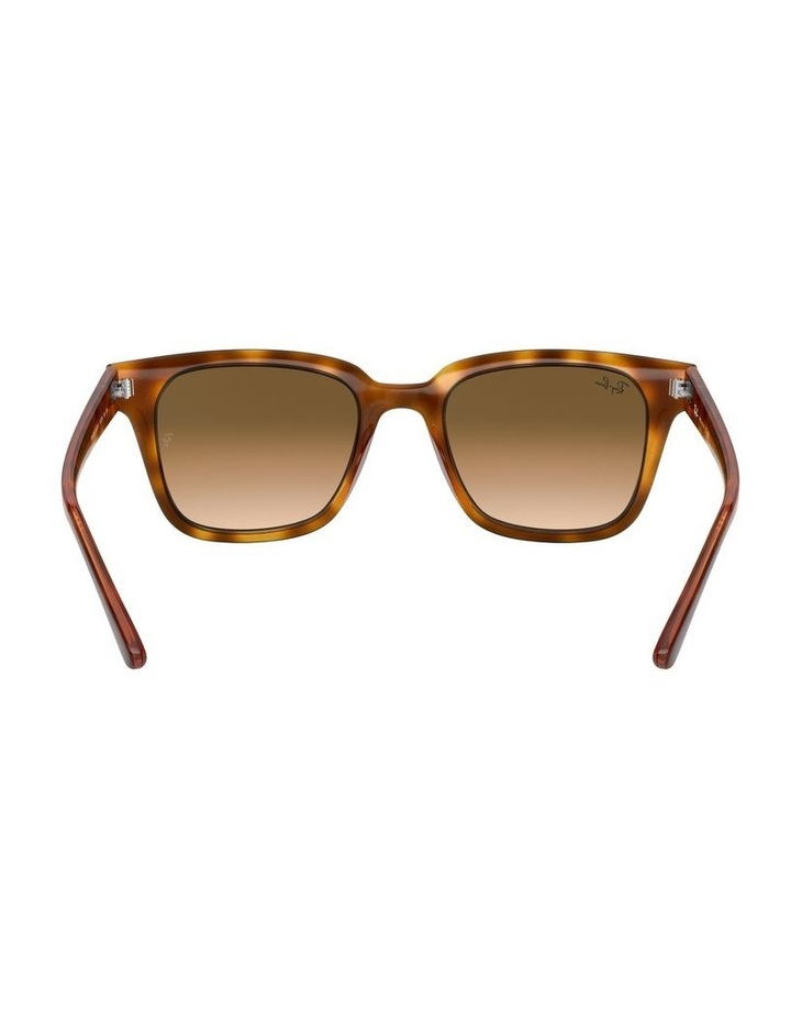 Brown Square Sunglasses 0RB4323 1526227010 image 7