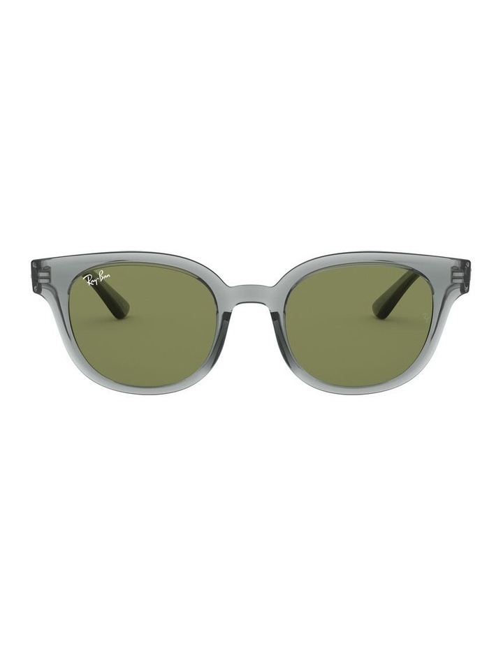 Transparent Grey Square Sunglasses 0RB4324 image 2
