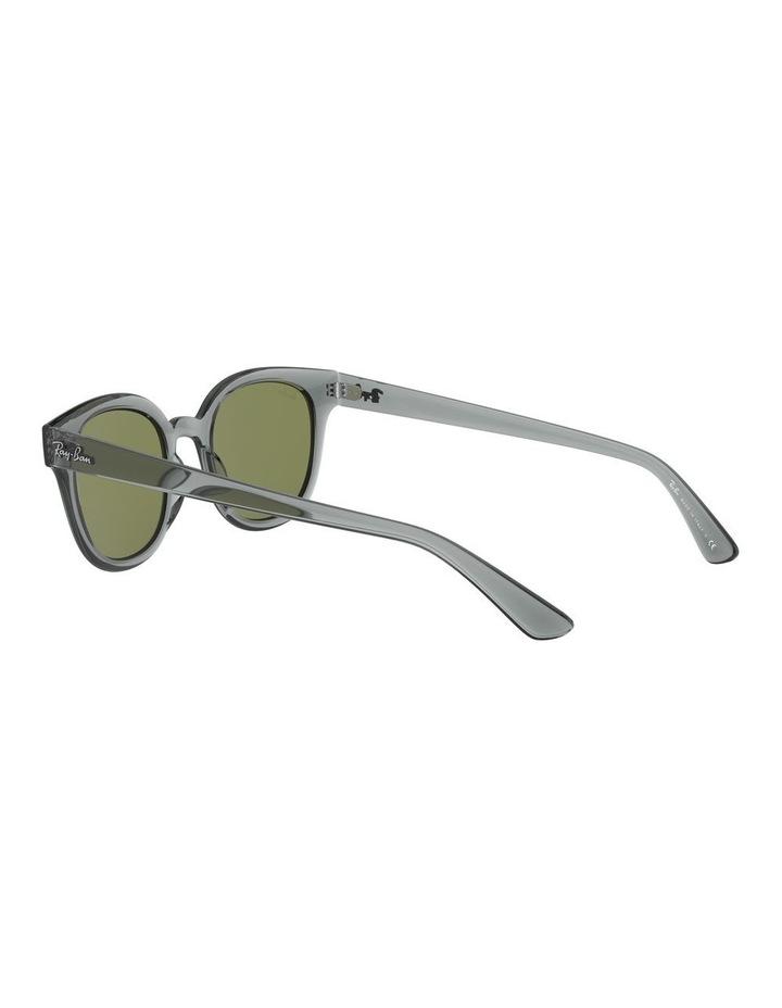Transparent Grey Square Sunglasses 0RB4324 image 5