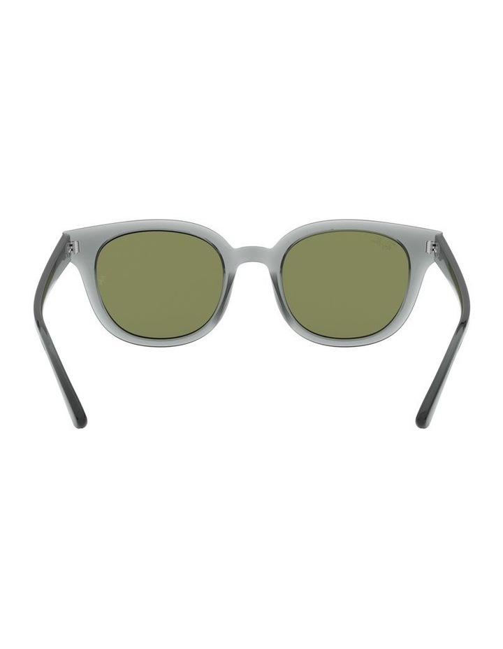 Transparent Grey Square Sunglasses 0RB4324 image 7