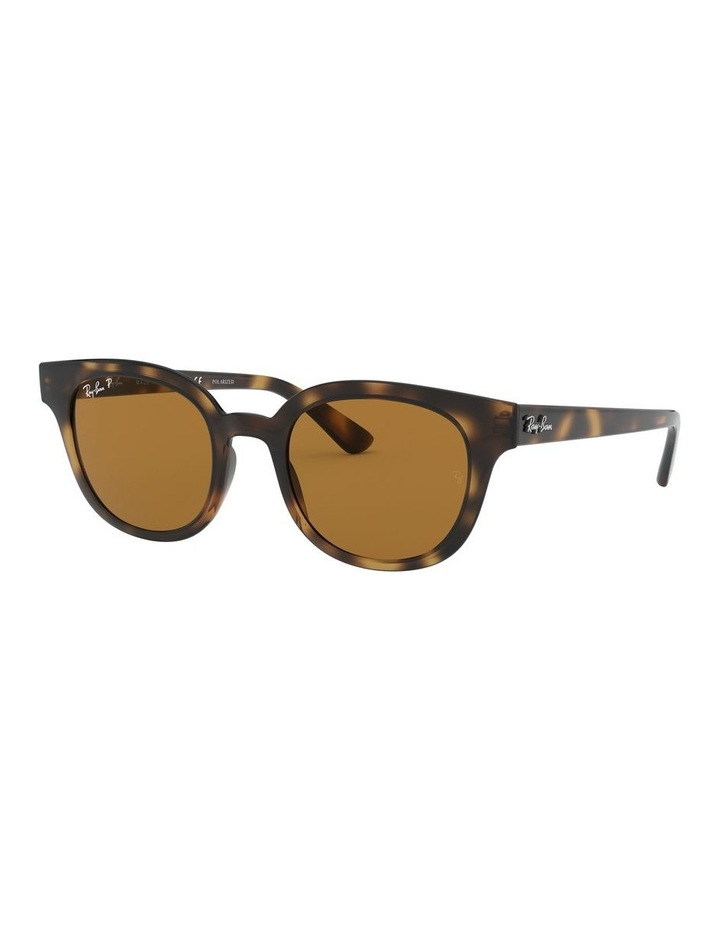 Brown Square Sunglasses 0RB4324 1526228003 image 1