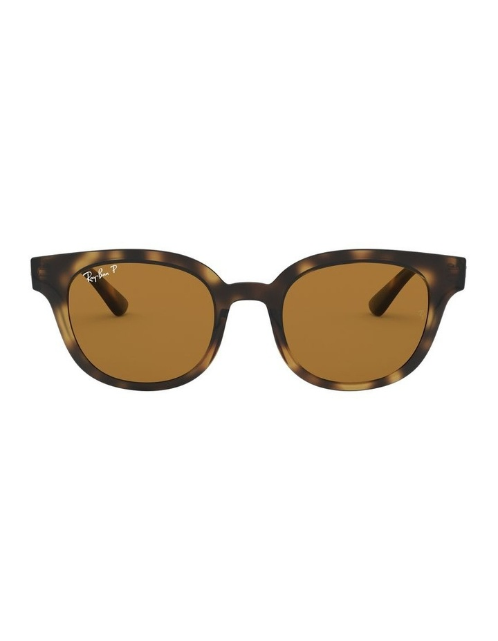 Brown Square Sunglasses 0RB4324 1526228003 image 2