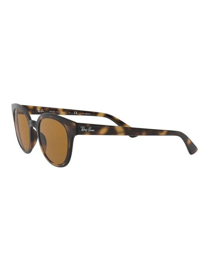 Brown Square Sunglasses 0RB4324 1526228003 image 3